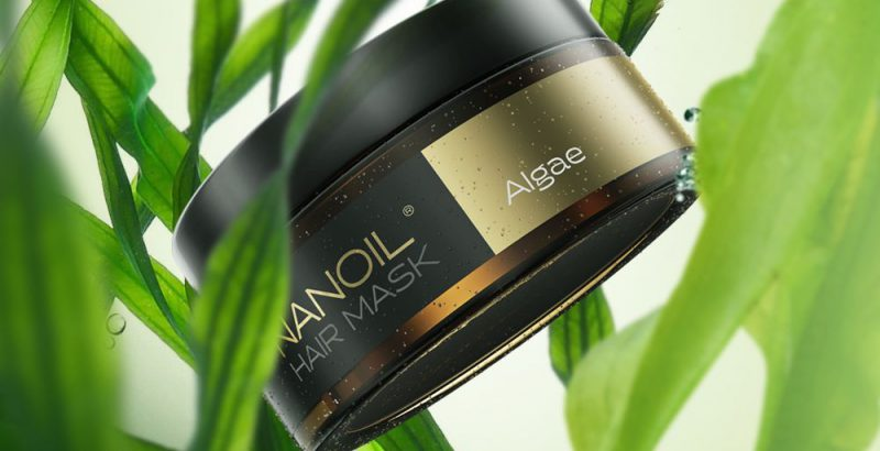 nanoil algea hair mask